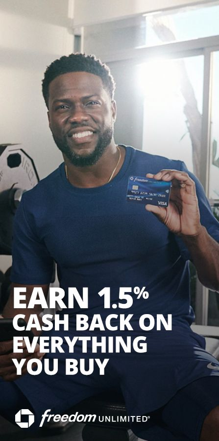Work Those Earns Get 1 5 Cash Back On Everything You Buy Plus No Annual Fee Chase Freedom Unlimited A Fix Your Credit How To Get Money How To Look Better