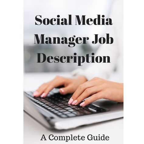 Social Media Job Description - Ultimate Resource #SocialMedia #Job - social media job description
