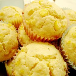 THE best cornbread muffins. 1 package jiffy cornbread mix, I package jiffy yellow cake mix, 2 eggs, 1/3 cup milk, and 1 can creamed corn. Mix all together and put in muffin pan; bake at 350 for 22-25 minutes (makes between 18-22 muffins). Perfect with a bowl of chili on a cold night!