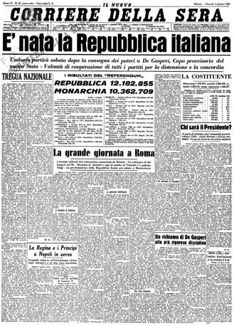 Storia Del Corriere Della Sera Storia Giornale Giornale D Epoca