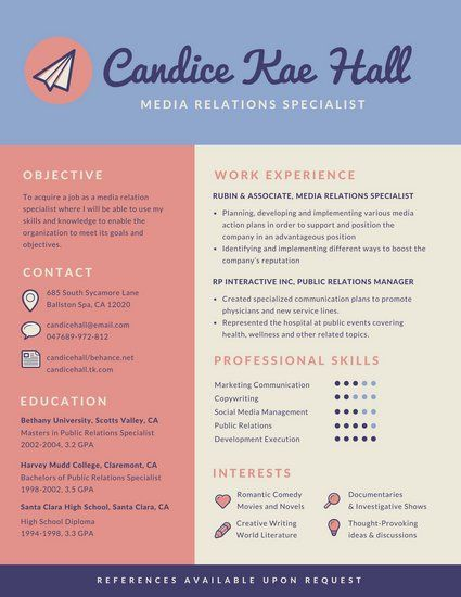 The Designer Has Used Their Three Toned Colour Scheme To Separate Information In Their Cv Infographic Resume Template Infographic Resume Resume Design Template