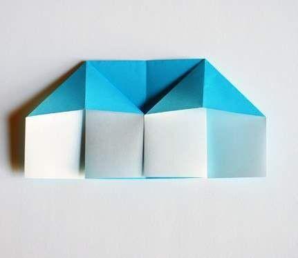 طريقة صنع بيت بالورق الملون اشغال يدوية للاطفال Crafts For Kids Crafts Blog Posts