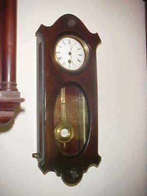 Miniature Lenzkirch R A Vienna Regulator Wall Clock 1869 Clock Wall Clock Vintage Wall Clock
