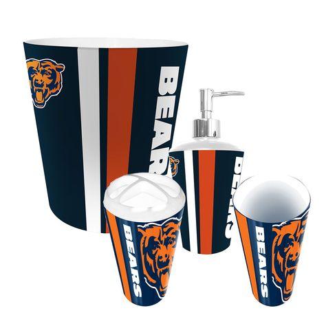 Chicago Bears Nfl Complete Bathroom