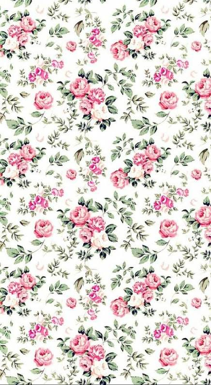 46 Super Ideas For Flowers Roses Wallpaper Nature Vintage Flowers Wallpaper Flower Background Iphone Background Patterns Flower wallpaper vintage pink background