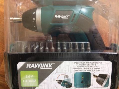 Luxury Akkuschrauber RAWLINK V Lithium NEU LED Beleuchtung STD Laufzeitsparen sparen de sparen info Preisvergleich Pinterest LED