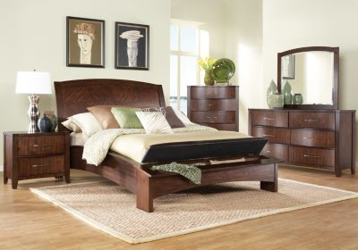 Baylor Hill Walnut Queen Bedroom Collection Rooms to Go | Mom ...