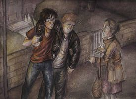 Reintroducing Mrs Figg By Hogwartshorror Art Art Studies Harry Potter Art