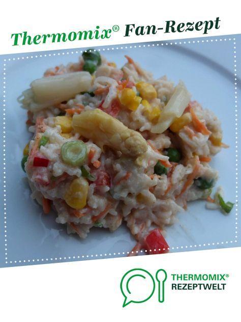 Sommerlicher Reissalat Rezept Reissalat Thermomix Salat Rezepte