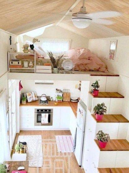 Wonderful Tiny House Design Ideas 21 Tiny House Bedroom Tiny House Design Tiny House Inspiration