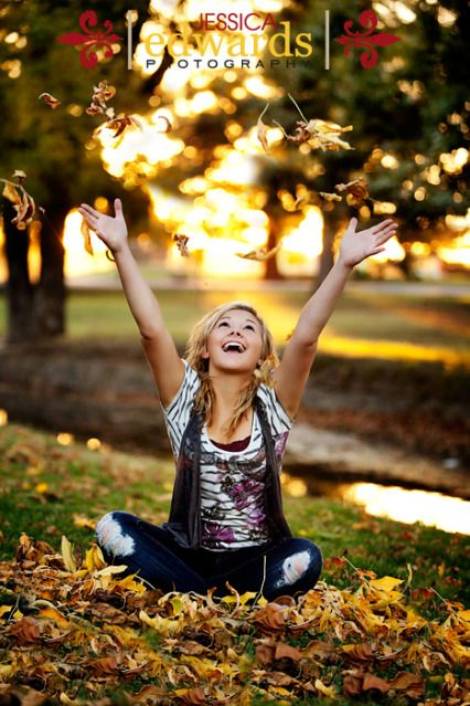 I really wish we could wait until fall to turn in senior pictures.... its not as hot, and I could do this.. :  (