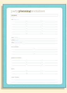 Party Planning Tips And Printable Checklist  Event Planning