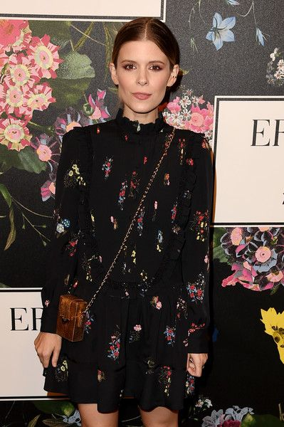 Kate Mara attends the H&M x ERDEM Runway Show & Party at The Ebell Club of Los Angeles.