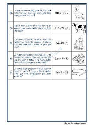 Worksheet Of Let S Practice Division 03 Division Division Maths I 2020