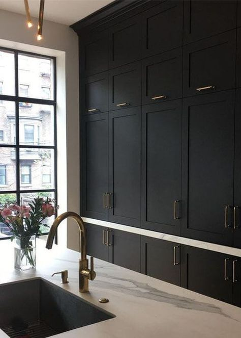Today I'm sharing 5 kitchen trends of 2019, from concrete worktops to mix and match cabinetry. Click through for more interior inspiration.