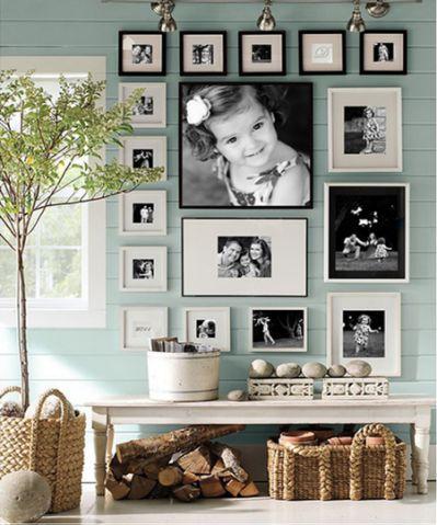 Wall Collage Photo Orientation 3 Pared De Fotos Familiares Decoracion De Paredes De Casa Como Decorar Con Cuadros