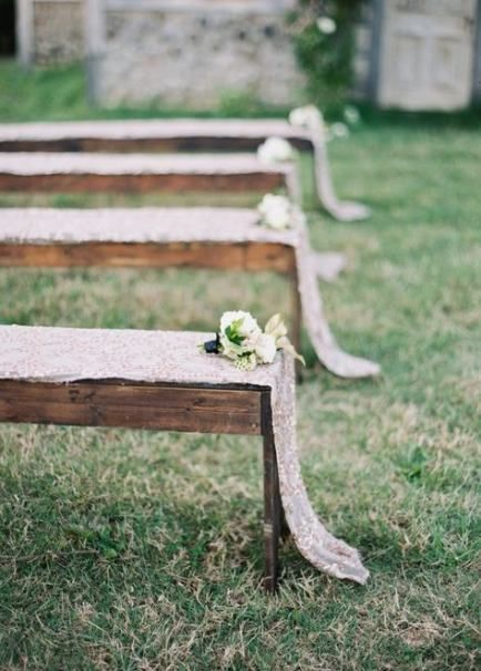 Wedding Ceremony Decorations Benches 70 Ideas For 2019 Holiday Wedding Inspiration Wedding Ceremony Decorations Wedding Ceremony Seating
