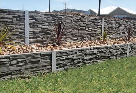 Diy Fence Ideas Retaining Walls Yard 28 Ideas Yard Fence Diy Retaining Walls In 2020 Landscaping Retaining Walls Backyard Fences Concrete Retaining Walls