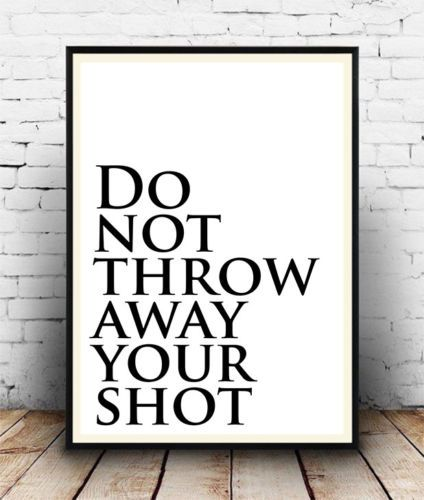 All Sizes Lyrics Wall Art Quotes Hamilton Broadway Musical Poster Poster
