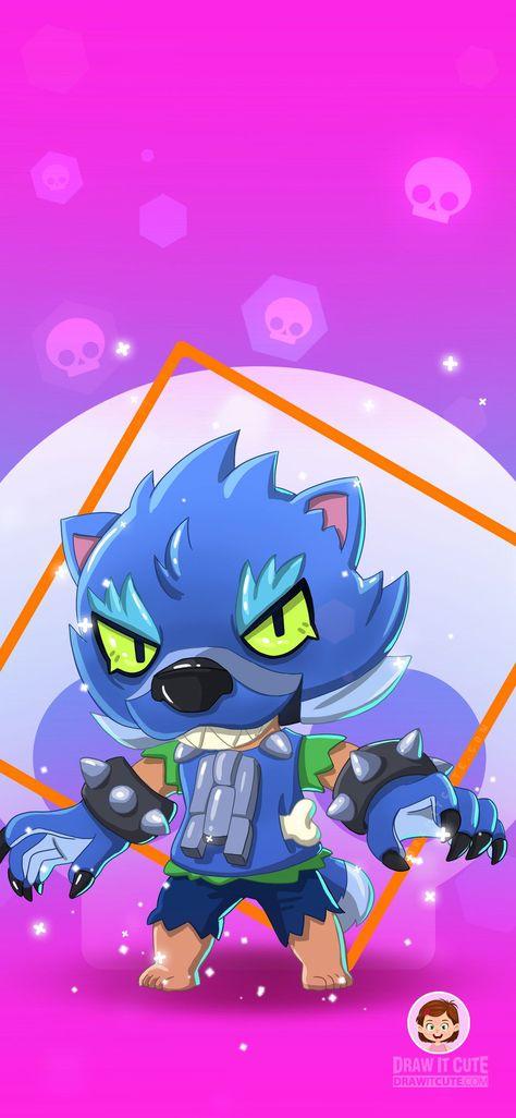 Brawl Stars Bull Star Coloring Pages Star Wallpaper Werewolf