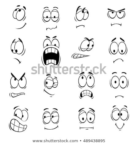 Human Faces Expressions And Emotions Cute Smiles Icons For