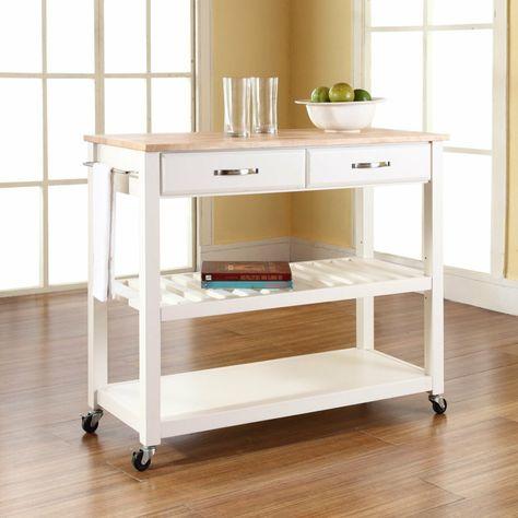 mobili-da-cucina-ikea-colore-bianco-top-legno-bicchieri ...