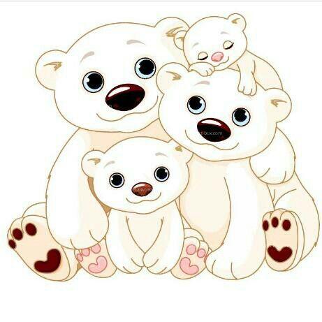 Pin De Anyi Corona En M Voc En 2020 Familia De Osos Dibujos De Osos Y Oso Polar Dibujo