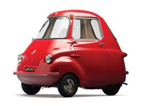Les Microcars, des mini-voitures anciennes