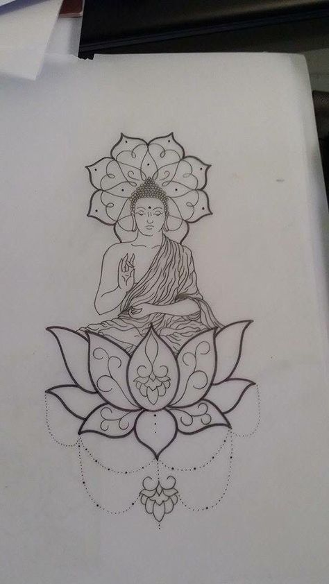Love the lotus on the bottom, maybe an idea for my thigh piece