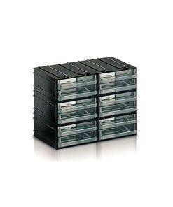 Cassettiere In Plastica Componibili.Cassettiera Plastica Componibile 12 Cassetti Trasparenti Mm