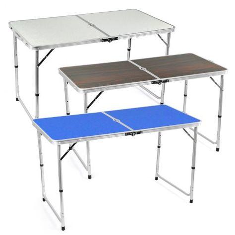 Klapptisch camping  BEST 35500020 Kinder-Camping-Tisch 60 x 40 cm, blau Best ...