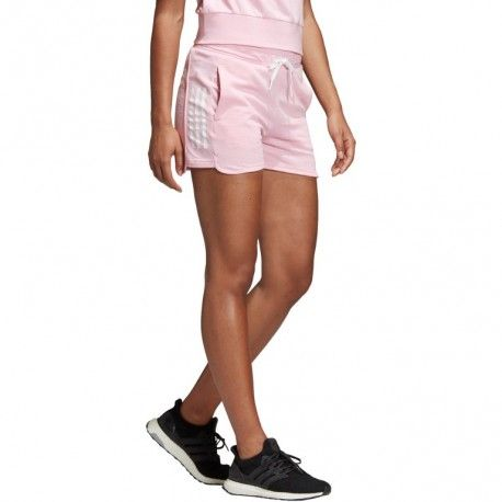 Pantalón corto Adidas para Mujer rosa | Pantalones cortos ...