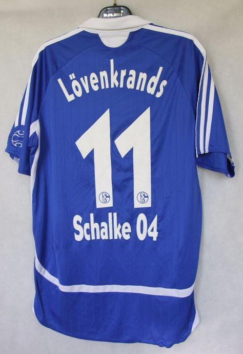 dcd5038f272 FC Schalke 04 Gelsenkirchen LOVENKRANDS #11 2006/2007 Home Shirt Jersey -  sz M #Adidas