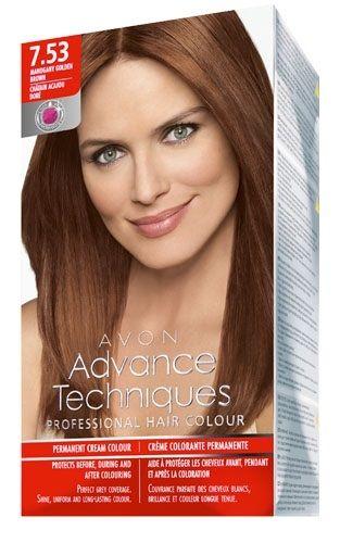 Avon Advance Techniques Sac Boyasi 7 53 Akaju Dore Kahve Sac
