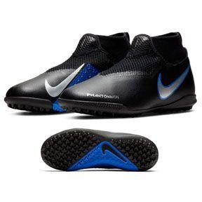 Nike Youth Phantom Vsn Academy Df Turf Soccer Shoes Black Blue Https Www Soccerevolution Com Store Products Nik 14217 F Php Nike Black Shoes Turf Shoes