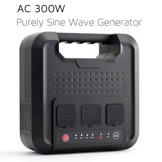 Great Review Useful Weiyi 300 Watt Purely Sine Wave Portable Generator Power Station Power Inverter With Outputs Power Inverters Battery Generator Sine Wave