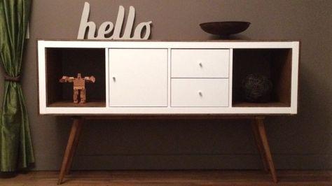 Une nouvelle vie pour un meuble IKEA Attention, pour fixer les - reglage porte placard ikea