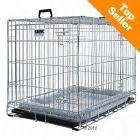 Cage de transport et d'intérieur Dog Residence pour chien 107x71x81 - 90e