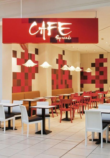 Cafe Interior Design and Decorating Ideas of Spreads Caf: Cafe ...
