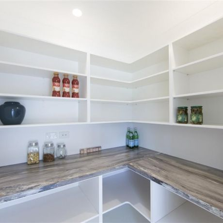 the walk in pantry vs scullery debate small kitchens pinterest - Walk In Pantry Design Ideas