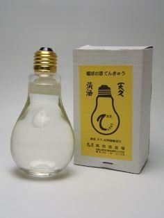 sake bottle label