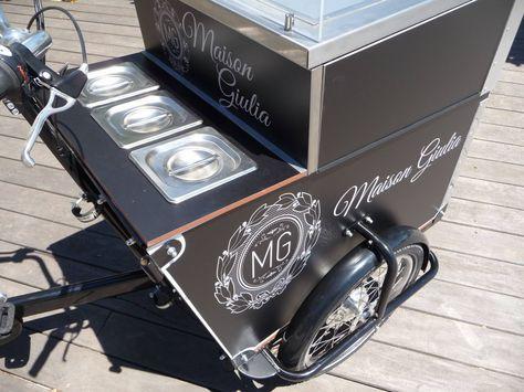 Triporteur Ice Cream Roll Triporteur Mazaki Mazaki Motor Carrinho De Sorvete Foodbike Ideias De Negocios