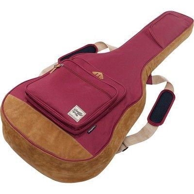Ibanez Powerpad Acoustic Guitar Gig Bag Wine Red Acoustic Guitar Guitar Bag Guitar