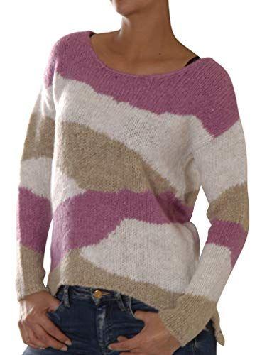 Key Largo Damen Pullover WKN Bonsoir Marine (52) 36: Bekleidung