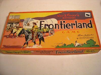Walt Disney's Official Frontierland Game - Disneyland