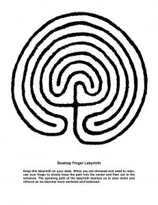 photograph relating to Finger Labyrinth Printable referred to as Pinterest