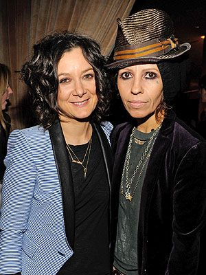 Sara Gilbert Linda Perry Welcome Son Rhodes Emilio