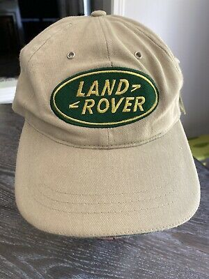 Land Rover Beige Khaki Green Strap Back Hat Cap Fahrenheit Fashion Head Wear Ebay Land Rover Beige Header