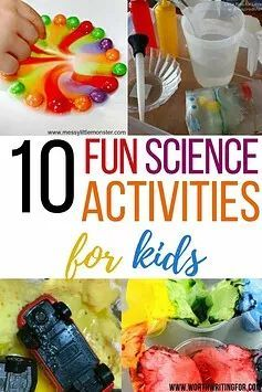 10 Super Fun Simple Science Experiments For Kids Science Experiments Kids Fun Science Cool Science Experiments