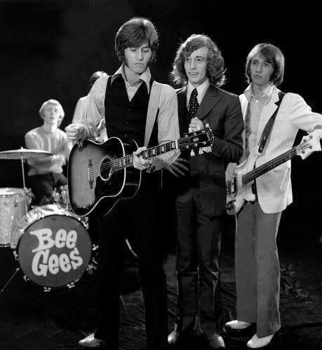 "The legendary Bee Gees during their ""First Fame"" period… Thank God the world was introduced to them!"